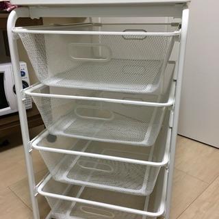 IKEA、通販、イケア、ALGOT、フレーム、メッシュバスケット4...