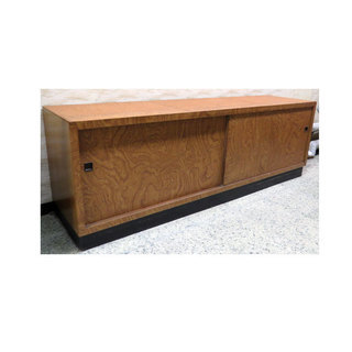 ローボード 182cm 幅 業務用 木製 ショーケース台 木目調 ...