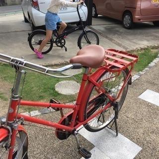レトロ!! 郵便局の自転車