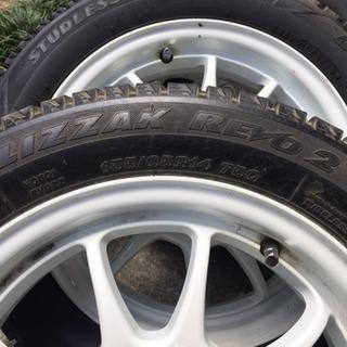 軽自動車用冬用タイヤ  ブリジストン ホイール付き