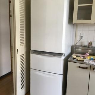 ★無料★三菱 ノンフロン 冷凍冷蔵庫 370L