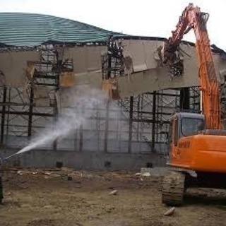 工事現場の清掃、水まき作業員募集中!