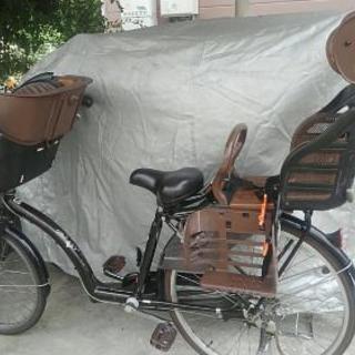 子ども二人乗せ自転車。値段交渉可能。