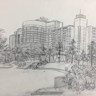 「絵画・デッサンコース」大阪南堀江のマンガ・イラストが習える絵画教室