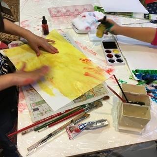 「子どもアートコース」大阪南堀江のマンガ・イラストが習える絵画教室