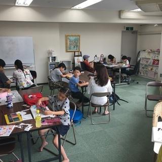 「イラスト・デザインコース」大阪堀江の絵画、イラスト、漫画が習える教室 - 絵画