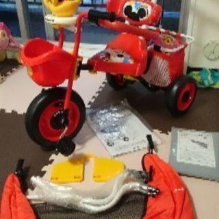 新品同様のミッキーの三輪車♪♪