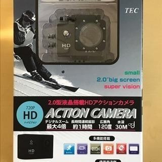 【新品】TEC製 2.0型液晶搭載HDアクションカメラ