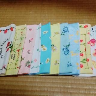 【新品】ハンカチタオル 10枚300円!