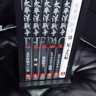 値下げしました❗ユーキャン太平洋戦争第1章全5間DVD 新古品3...