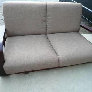 2人掛けソファ 引取  座椅子