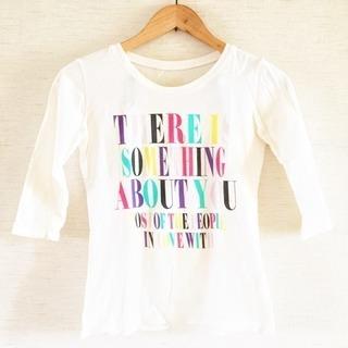 七分袖 カットソー Tシャツ