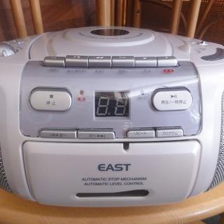 3c86 AM/FMステレオCDラジカセ EAST CD-38 新...