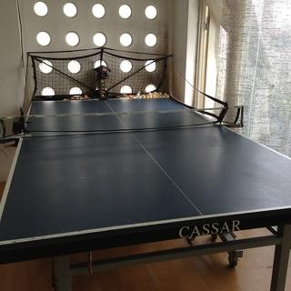 卓球台+卓球マシンのセット