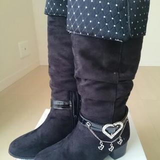 【商談中】ブーツ 20cm 黒 女の子