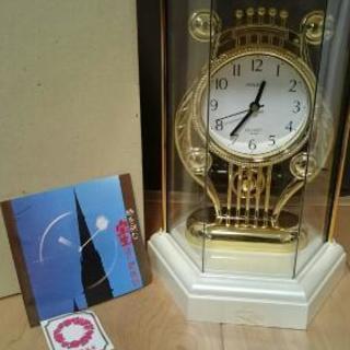 宝生 塗り時計 新品未使用 六角振り子時計 高島屋