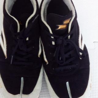 1か月使用【SSK】エスエスケイ定価8700 トレーニングシューズ ソール足袋形状