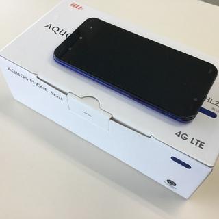 【値下げ】AU AQUOS PHONE①ブルー (SHL22)(...