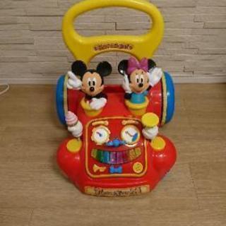 ディズニー 手押し車