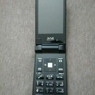 再値下げ・価格応談!★PHS ワイモバイル WX12K 黒