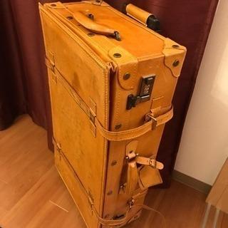キャリーケース 豚革 ユーラシアトランク