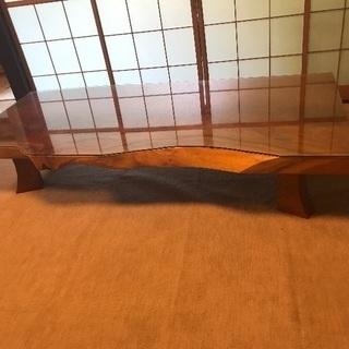 ◆高級けやき◆座卓テーブル◆一枚板◆