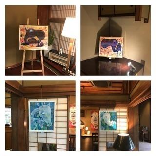 大田眞規子あにまぁ〜る展in純喫茶リエール − 和歌山県