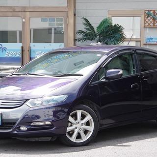 【誰でも車がローンで買えます】H22 インサイト LS 紫 完全自...