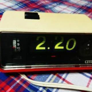 ◆CITIZEN シチズンデジタル リズム時計工業 当時物