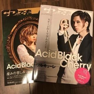 Acid Black Cherry CDでーた 2冊セット