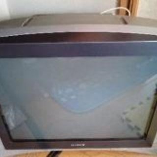SONYブラウン管TVあげます