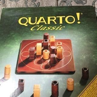 ボードゲームの王様  QUARTO!  新品!