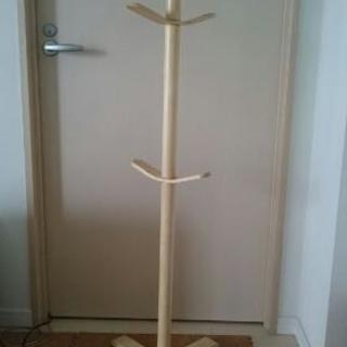木製ポールハンガー