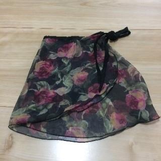 レディース バレエ 巻きスカート