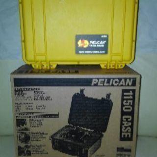 黄色の中古ペリカン防水ケース1150(箱あり)