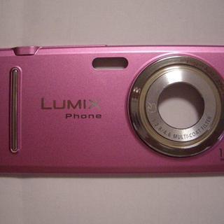 LUMIX P-03C 薄ピンク リアカバー 純正品(本体ではあ...