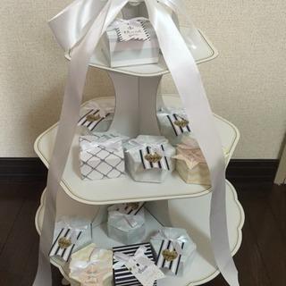 【中古品】ウェディング/結婚式ウェルカムスペース 飾り台