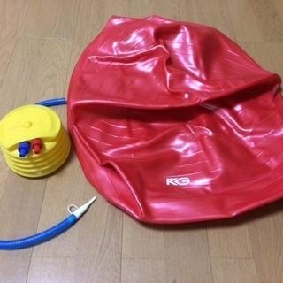 【空気入れ付き】フィットネスボール