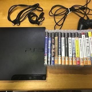 PS3&ソフトてんこ盛りセット!