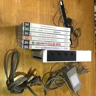 【値下げ】Wii一式&ソフトセット!