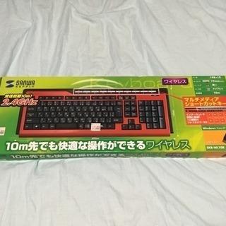 PC用ワイヤレスキーボード 新古品