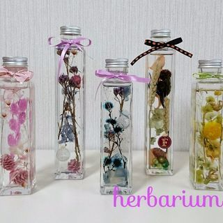 Flower Dress ハーバリウムレッスン
