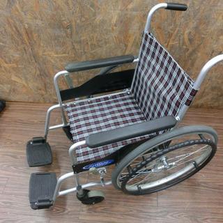 NISSIN 折りたたみ式 車椅子 介護/介助 ブレーキ付き 中古