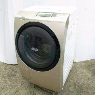 2012年式日立ビッグドラム式洗濯乾燥機9キロです  ヒーターレ...
