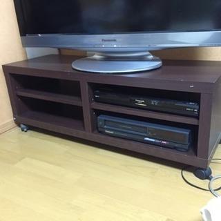 キャスター付き テレビボード
