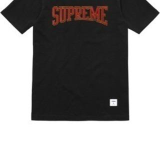 Supreme Embroidered Logo Top 黒M ...