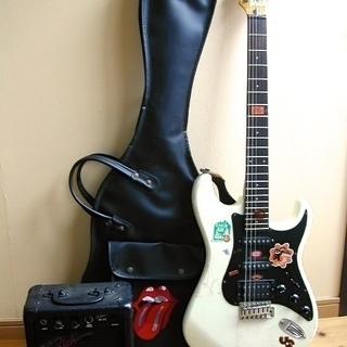 SAMICK サミック エレキギター アンプ カバー付き