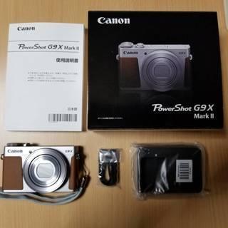 ★★ Canon Power Shot G9X MarkⅡ シルバ...