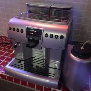 【良品】saecoサエコ全自動エスプレッソマシン業務用コーヒーメー...