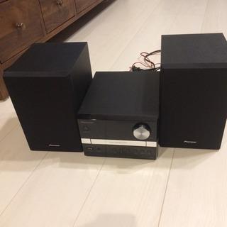PIONEER CDコンポ X-EM12